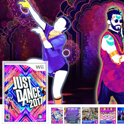 Health and Wellness stocking stuffer Just Dance Wii