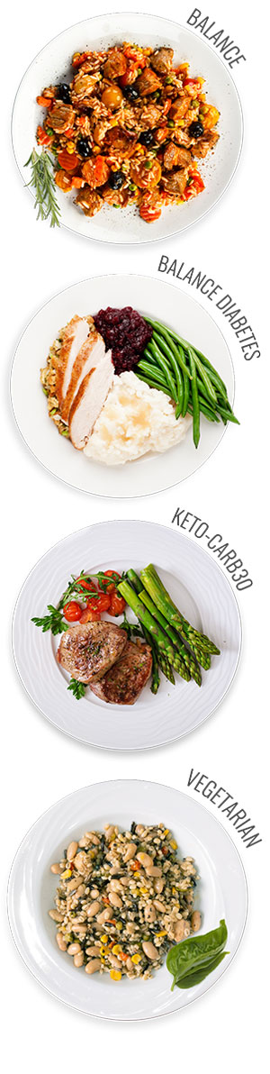 Portion Controlled Meals
