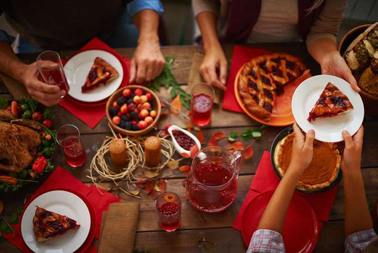avoiding weight gain during thanksgiving holiday