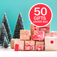 Healthy Holiday Gift Guide - 50 Gifts under $50